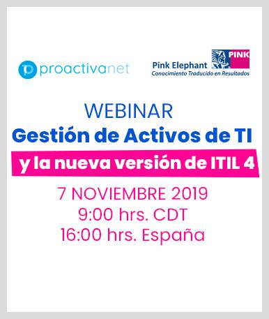 Gestión de Activos de TI y la nueva versión de ITIL 4